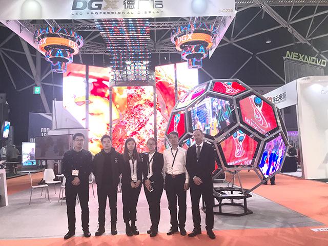 DGX shined on ISE 2018