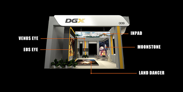DGX new product debuted LED China 2018